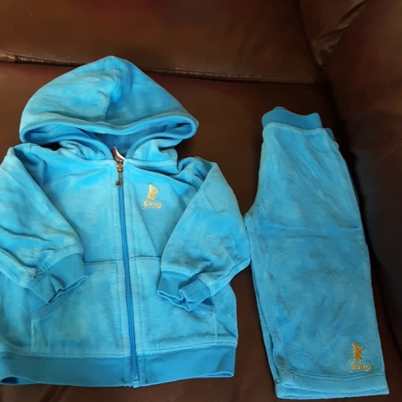 115ce12aa Juicy Couture Matching Sets | Infant Girls Velour Tracksuit | Poshmark